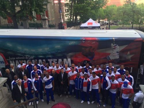 Equipo Cuba en Canadá 6