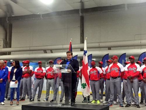 Equipo Cuba en Canadá 7